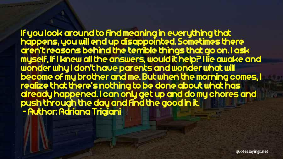 Brother Help Quotes By Adriana Trigiani