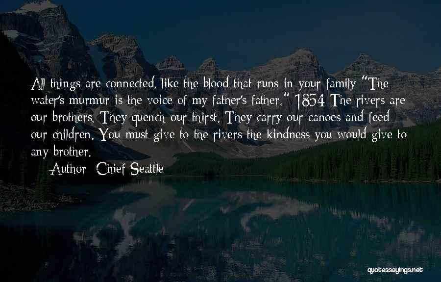 Brother Like Father Quotes By Chief Seattle