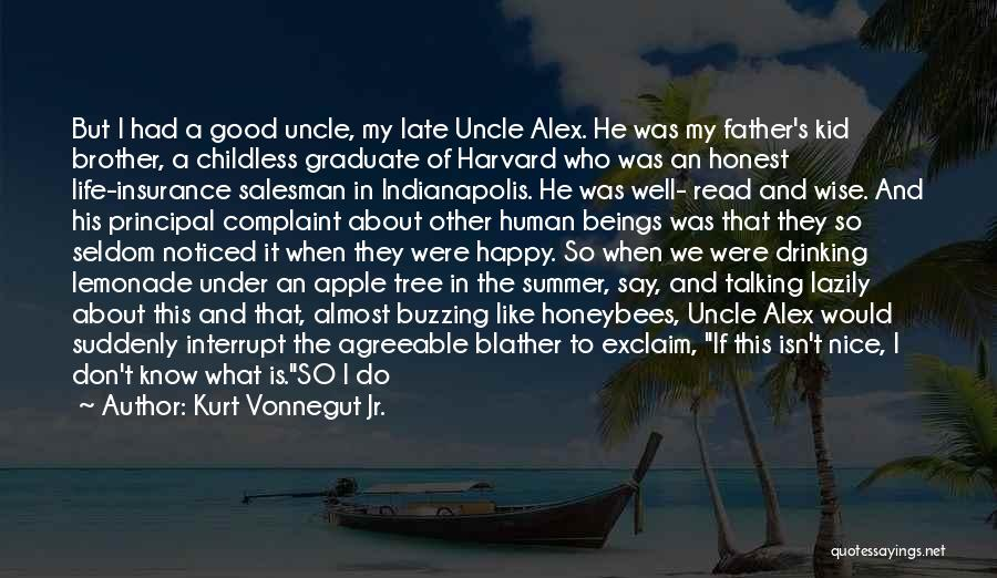Brother Like Father Quotes By Kurt Vonnegut Jr.