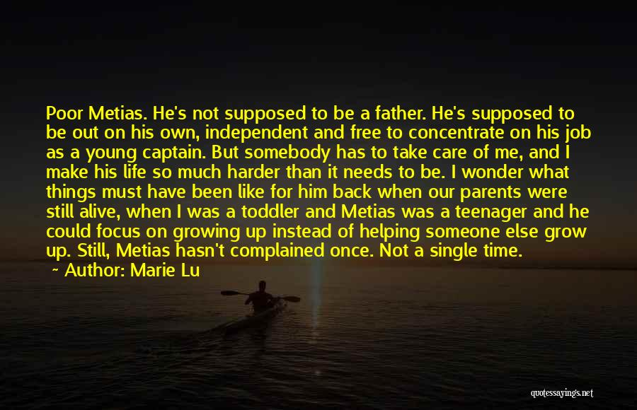 Brother Like Father Quotes By Marie Lu