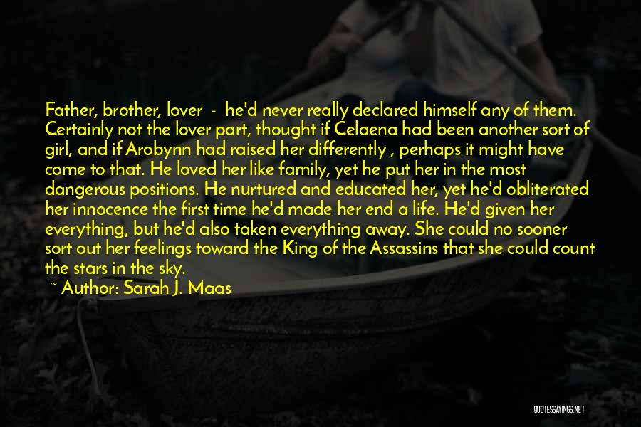 Brother Like Father Quotes By Sarah J. Maas