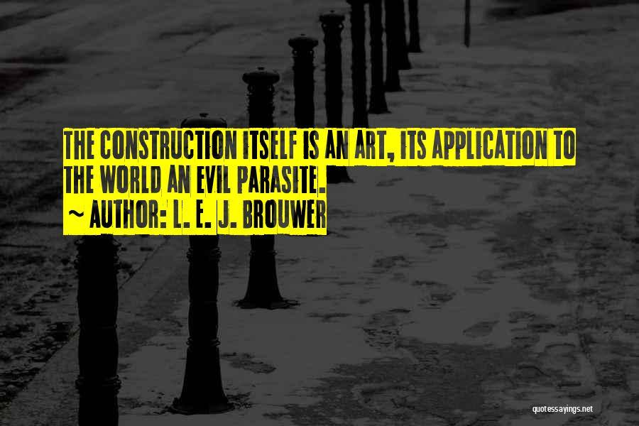 Brouwer Quotes By L. E. J. Brouwer