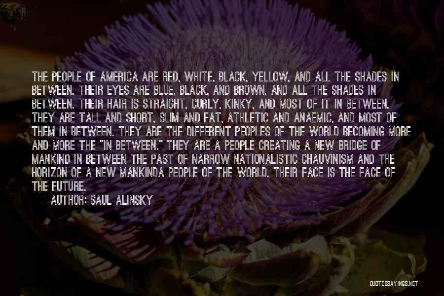 Brown Curly Hair Quotes By Saul Alinsky