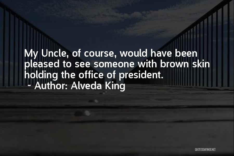 Brown Quotes By Alveda King