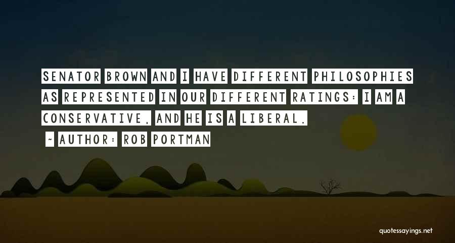 Brown Quotes By Rob Portman