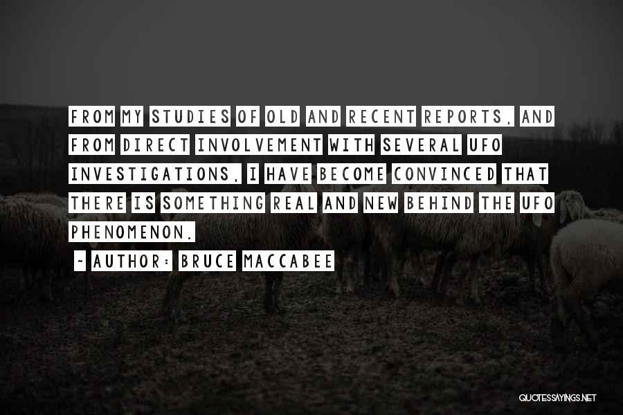 Bruce Maccabee Quotes 1760232