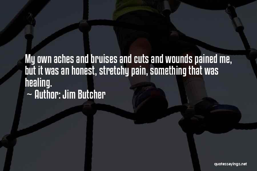Bruises Healing Quotes By Jim Butcher
