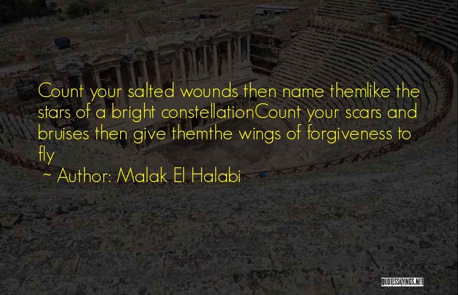Bruises Healing Quotes By Malak El Halabi