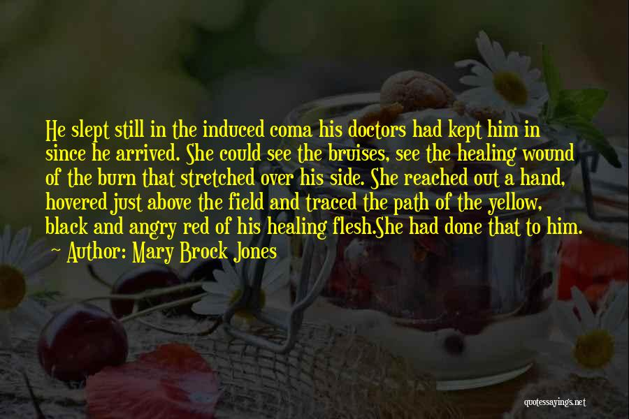 Bruises Healing Quotes By Mary Brock Jones