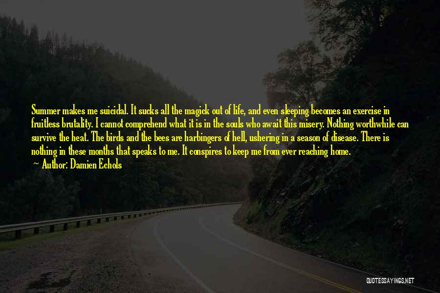 Brutality Of Life Quotes By Damien Echols
