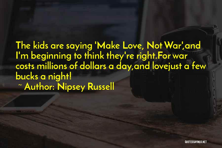 Bucks Night Quotes By Nipsey Russell