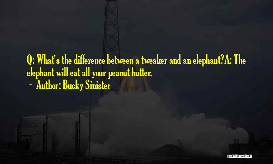 Bucky Sinister Quotes 2210313