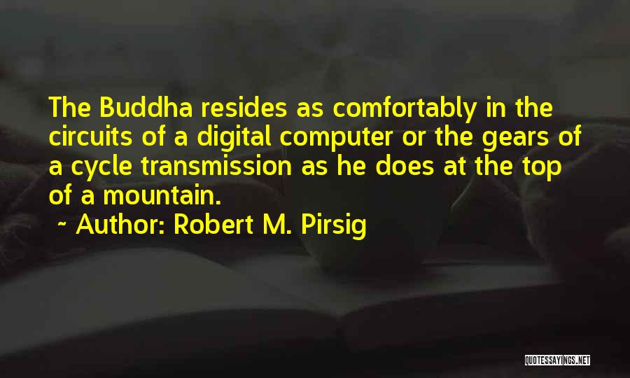 Buddha Top Quotes By Robert M. Pirsig