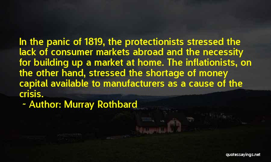 Building A Home Quotes By Murray Rothbard
