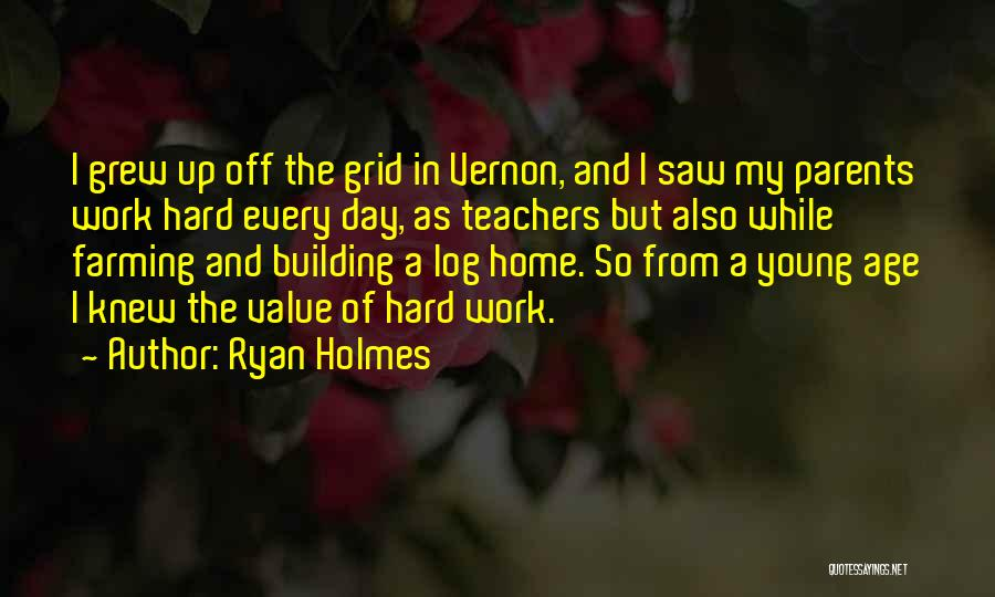 Building A Home Quotes By Ryan Holmes