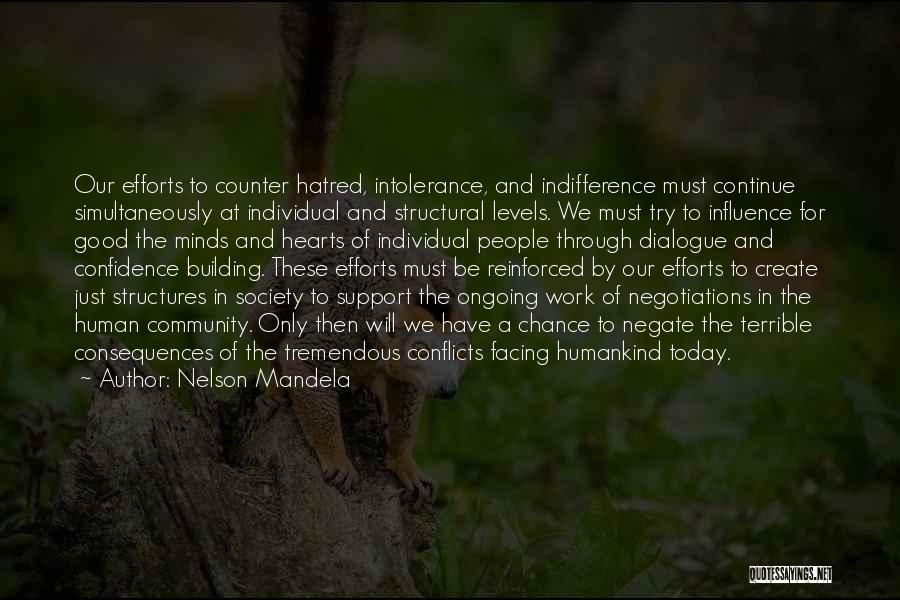 Building Structures Quotes By Nelson Mandela