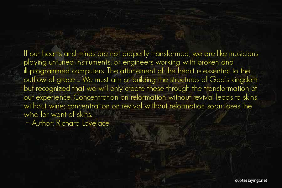 Building Structures Quotes By Richard Lovelace