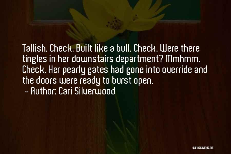 Bull Quotes By Cari Silverwood