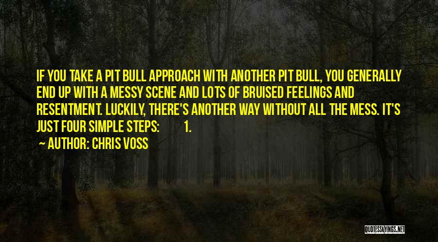 Bull Quotes By Chris Voss