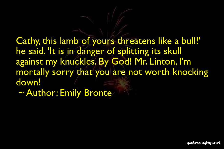 Bull Quotes By Emily Bronte