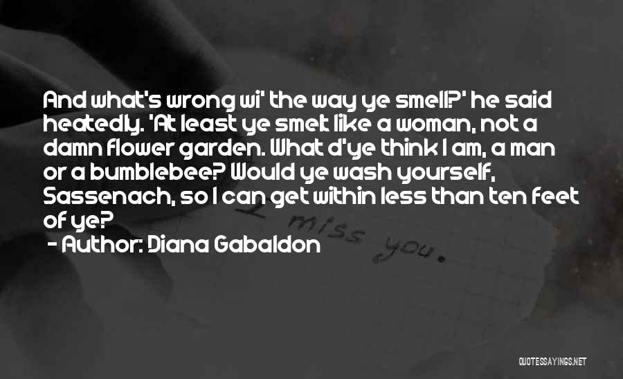 Bumblebee Man Quotes By Diana Gabaldon