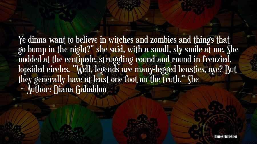 Bump In The Night Quotes By Diana Gabaldon