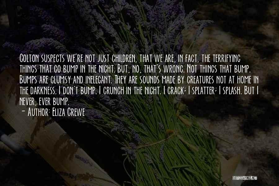 Bump In The Night Quotes By Eliza Crewe