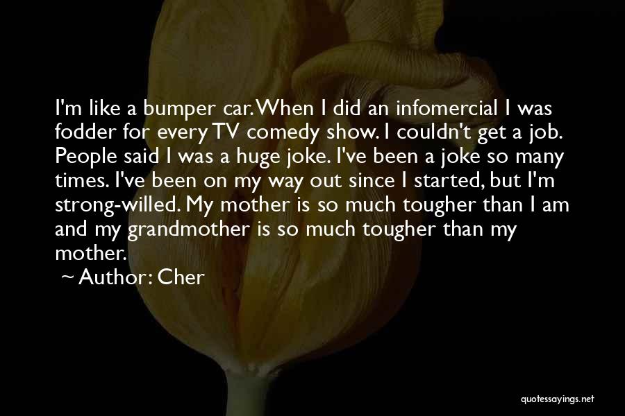 Bumper Car Quotes By Cher