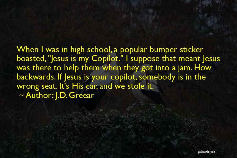 Bumper Car Quotes By J.D. Greear