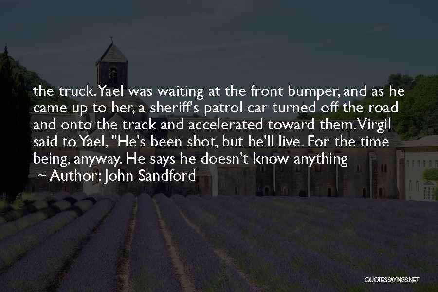 Bumper Car Quotes By John Sandford