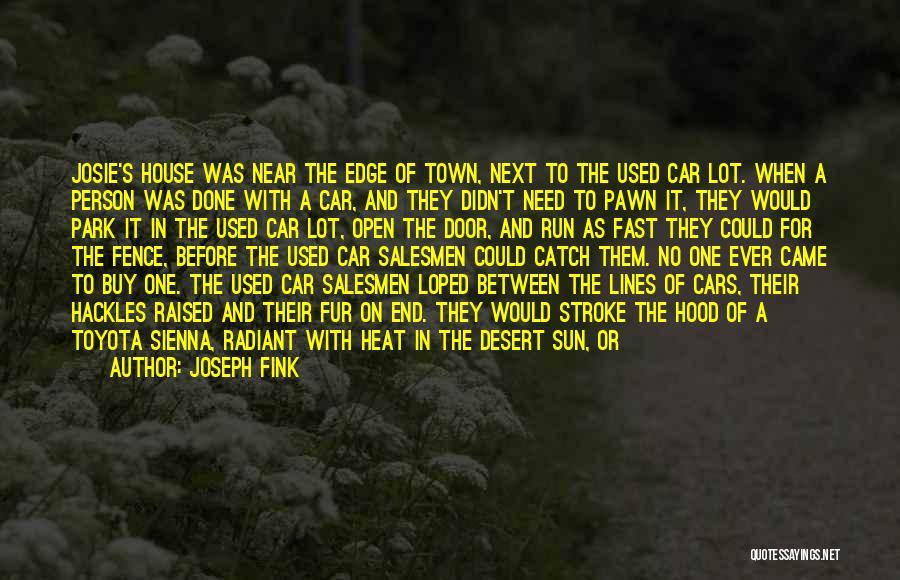 Bumper Car Quotes By Joseph Fink