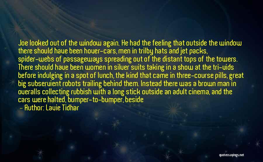 Bumper Car Quotes By Lavie Tidhar