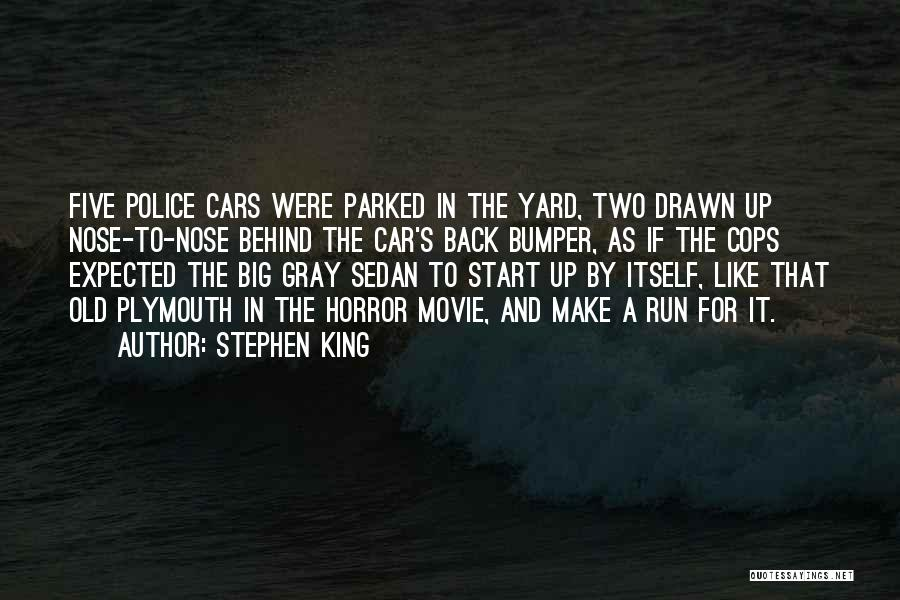 Bumper Car Quotes By Stephen King