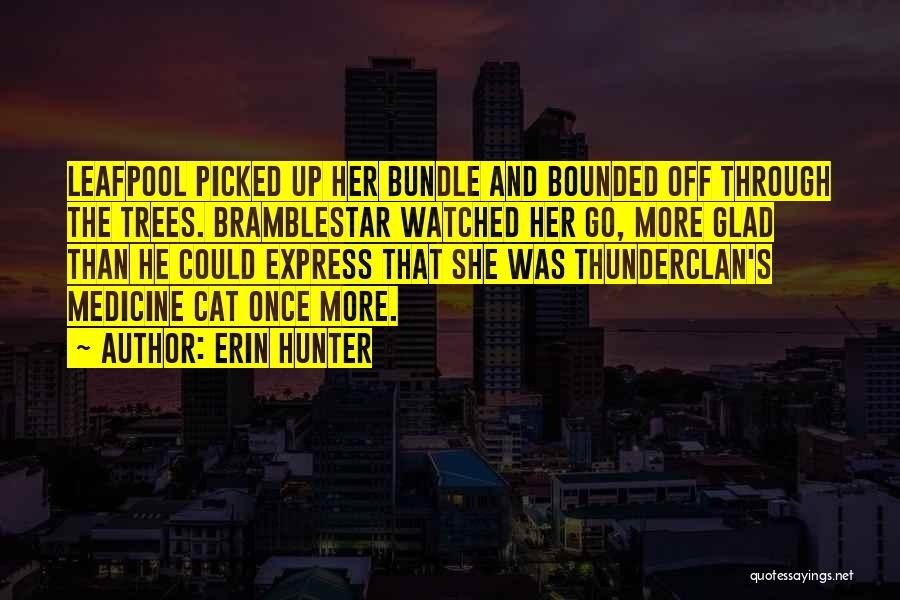 Bundle Up Quotes By Erin Hunter