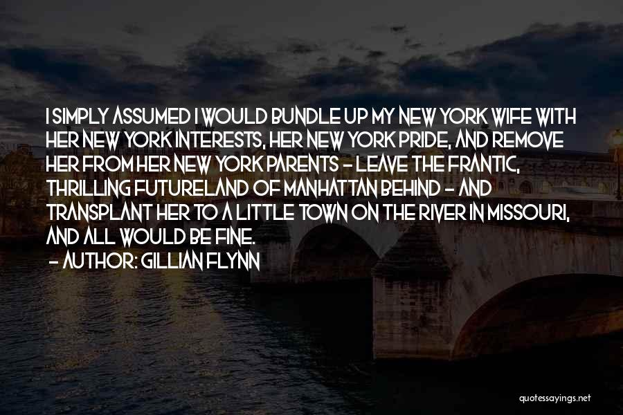 Bundle Up Quotes By Gillian Flynn