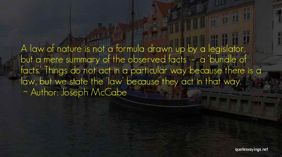 Bundle Up Quotes By Joseph McCabe