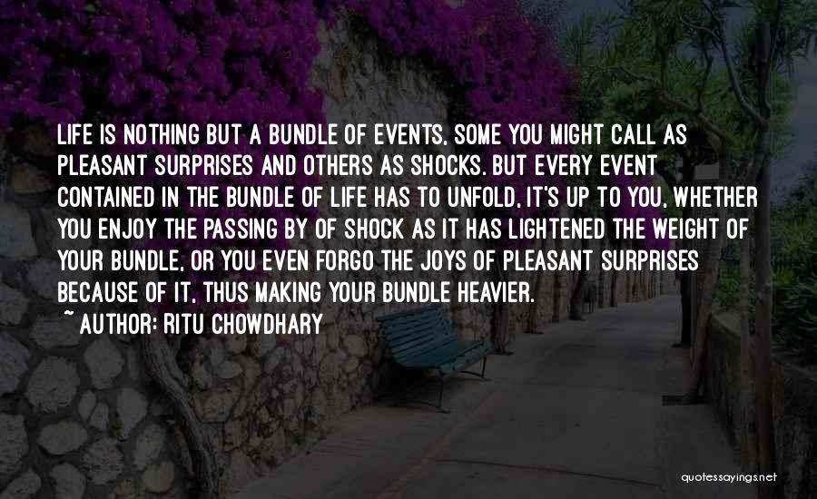 Bundle Up Quotes By Ritu Chowdhary