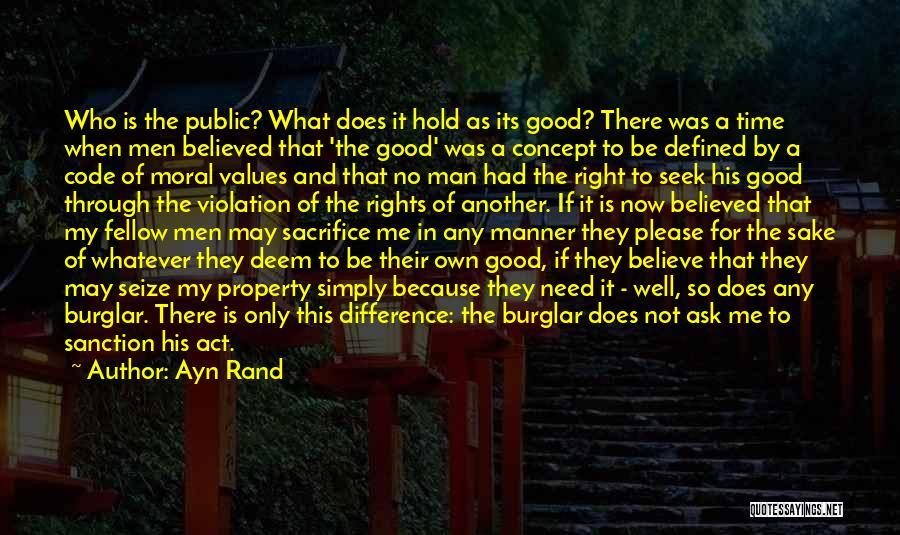 Burglar Quotes By Ayn Rand