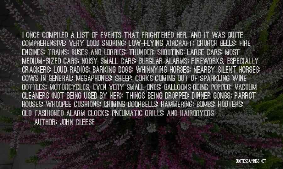 Burglar Quotes By John Cleese