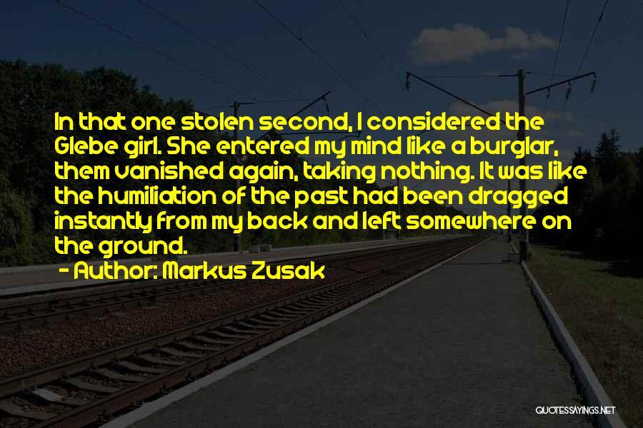 Burglar Quotes By Markus Zusak