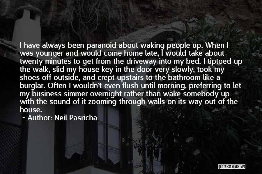 Burglar Quotes By Neil Pasricha