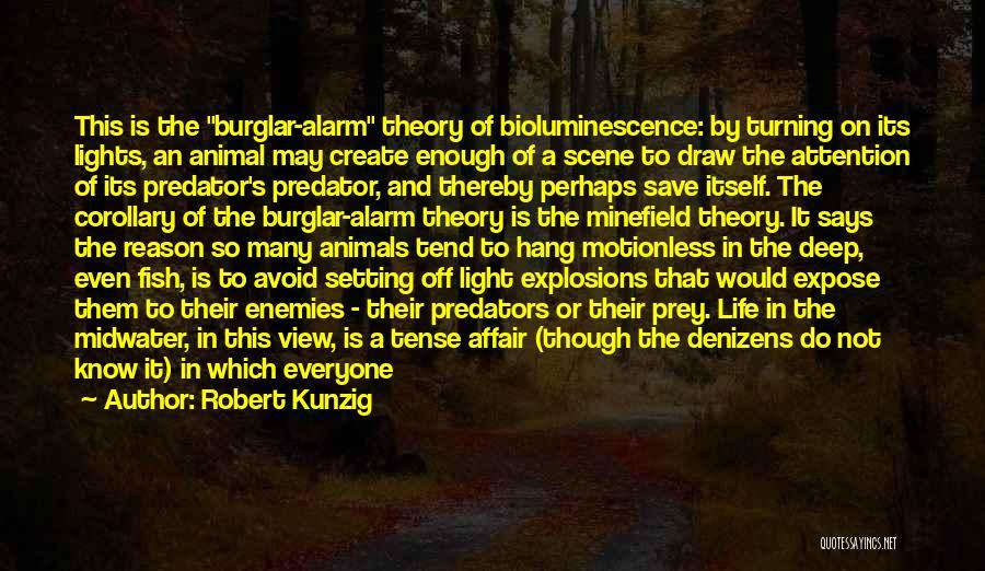 Burglar Quotes By Robert Kunzig