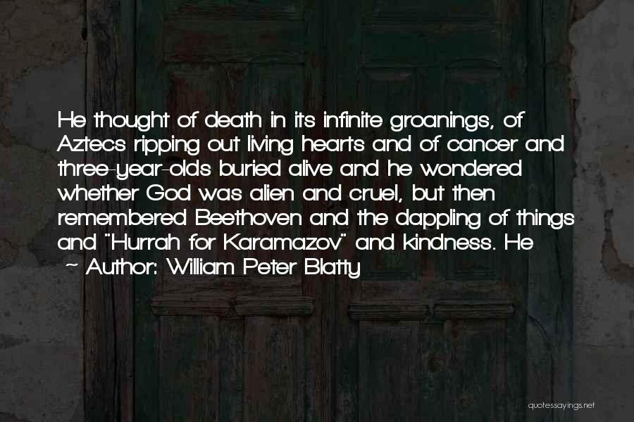 Buried Alive Quotes By William Peter Blatty