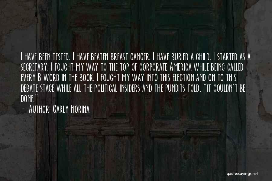 Buried Child Quotes By Carly Fiorina