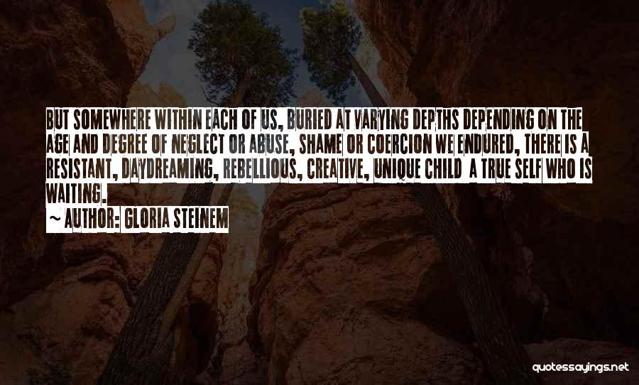 Buried Child Quotes By Gloria Steinem