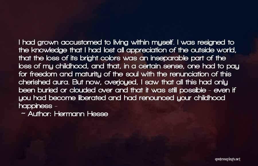 Buried Child Quotes By Hermann Hesse