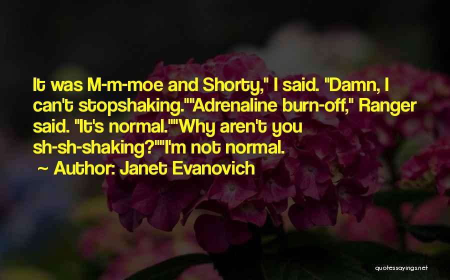 Burn A Bridge Quotes By Janet Evanovich