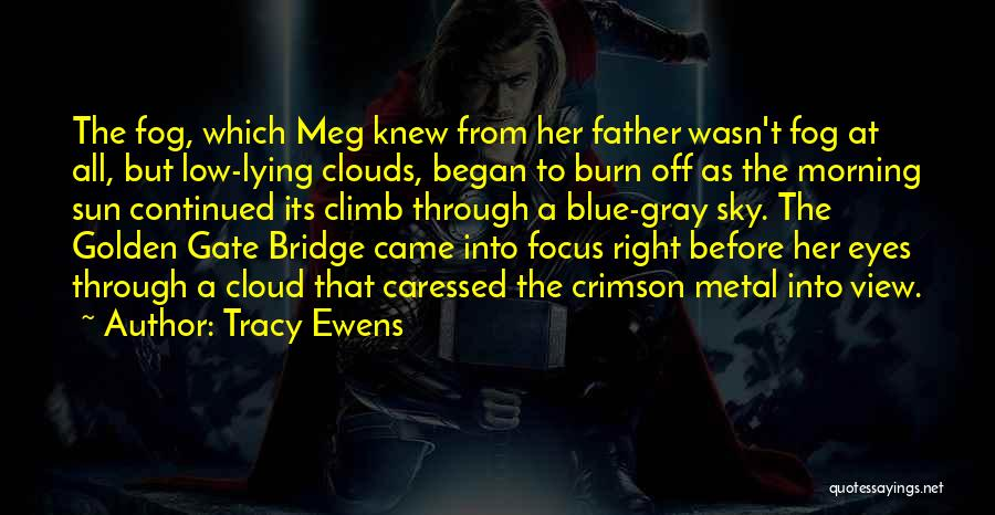 Burn A Bridge Quotes By Tracy Ewens