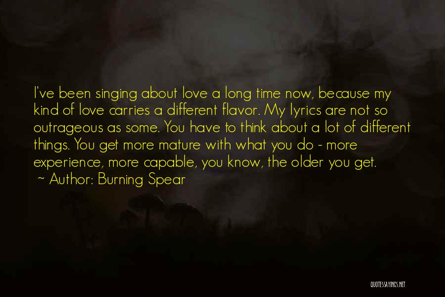 Burning Spear Quotes 2059952