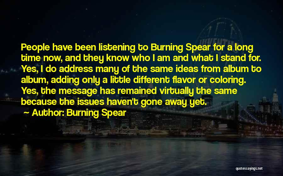 Burning Spear Quotes 2105306
